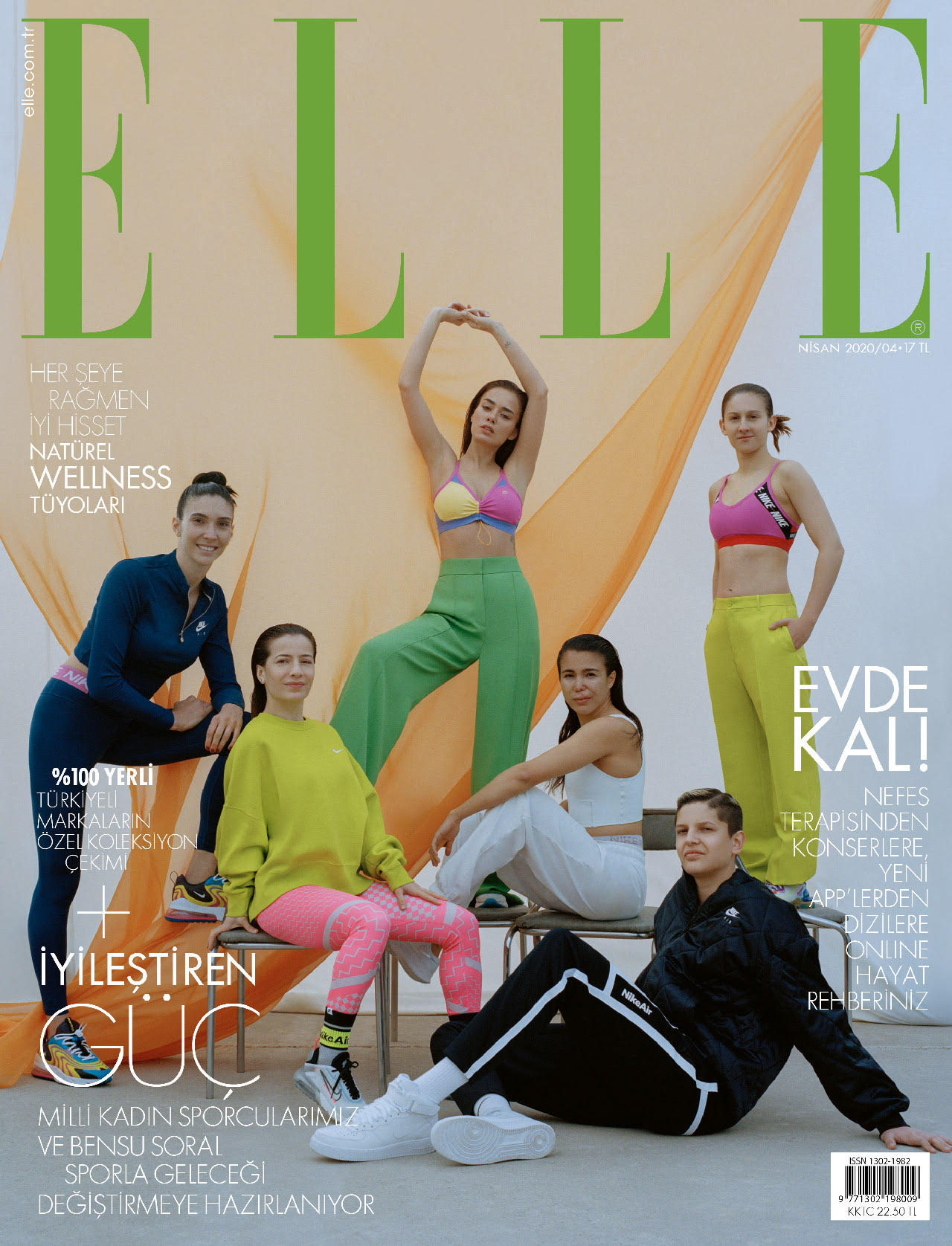 ELLE TR - APR '20 COVER SHOOTING